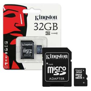 Micro sdhc kingston clase 4 sdc4/32gb, 32 gb