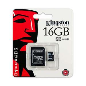 Paquete 10 memoria micro sd kingston 16gb clase 4 sdc4/16gb