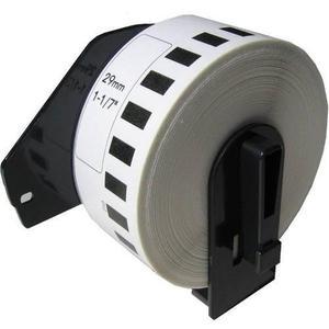 Rollo de etiqueta brother dk2210 para ql700 ql570 29mm 30m