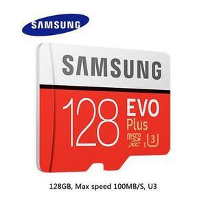 Samsung 2017 evo 4k 128gb u3 100mb/s memoria micro sd