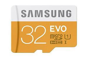 Samsung 32gb hasta 48mb / s clase evo 10 tarjeta sdhc micro