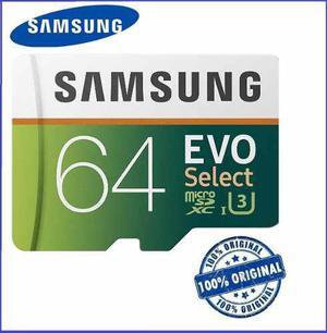 Samsung evo 64gb microsd memoria micro sd u3 oferta remate