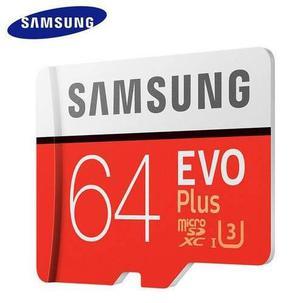 Samsung evo plus 4k 64gb u3 100/60mbs memoria micro sd