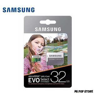 Samsung tarjeta micro sd microsdhc evo select 32 gb u1
