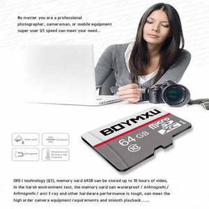 Tarjeta micro sd 64gb boymxu tarjeta de memoria sd tarjet...