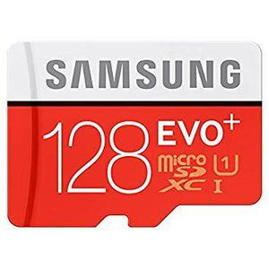 Tarjeta micro sd i samsung mb-mc128da/am evo plus, 128gb