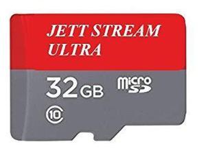 Tarjeta micro sd jett stream 32gb, clase 10 para celulares