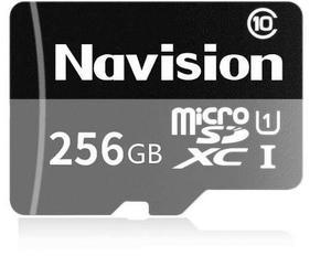 Tarjeta micro sdxc navision 256gb con sd adaptador clase 10