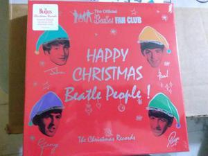 Beatles christmas 7 inch box set. nuevo!!!