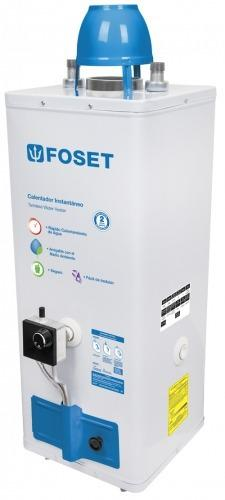 Calentador de agua, de paso, gas lp, 9 litros - foset 45269