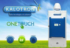Calentador de paso 6 litros kalotron. one touch cod. bc