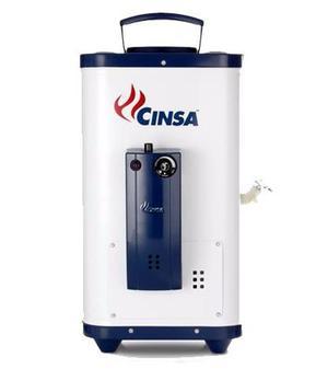 Calentador de paso cinsa cdp 06 lp o natural 6 litros x min