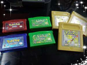 Juegos de pokemon para gameboy advance y color