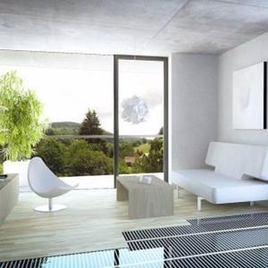 Piso radiante eléctrico 1m2 110v piso laminado