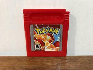 Pokemon Red Version Para Gameboy / Gb Excelente Estado