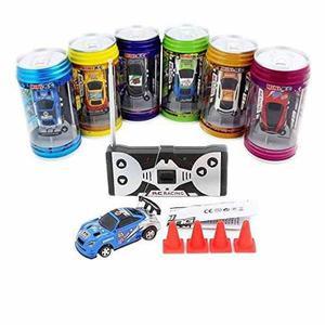 Guomei juguetes rc cars eléctrico mini coca-cola latas raza