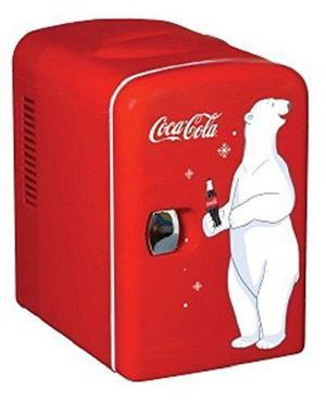 Mini refrigerador 6 latas portatil coca cola envió 24 horas
