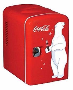 Refrigerador mini coca cola para 6 latas