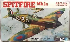 Spitfire mk.1a mpc escala 1/24 nuevo caja blanca