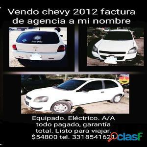 Vendo chevi automatico electrico 2012