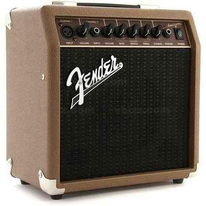 Amplificador para guitarra acoustasonic 15 fender 2313700000