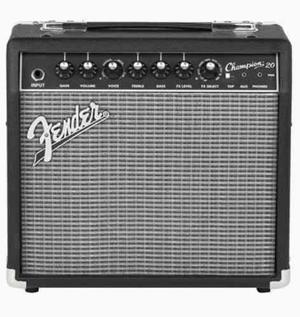 Amplificador para guitarra electrica fender champion 20
