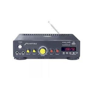 Amplificador perifoneo voceo usb fm mp3 karaoke 180w 620