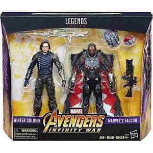 Marvel legends avengers infinity war winter soldier & falcon
