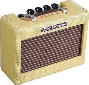 Mini amplificador guitarra combo fender mini 57 twin amp