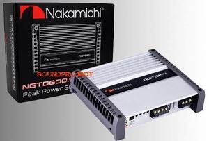 Nakamichi ngtd600.1 clase d, poder real, mejor que jl audio!