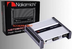 Ngtd600.1 nakamichi clase d, poder real, mejor que jl audio!