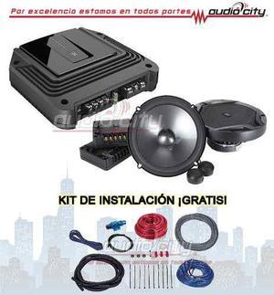 Paquete jbl amplificador gx-a602 con set de medios gx600c
