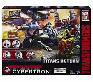 Transformers cybertron titans return 5 figuras hasbro