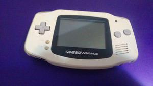 Nintendo game boy advance color blanco con tapa de pilas