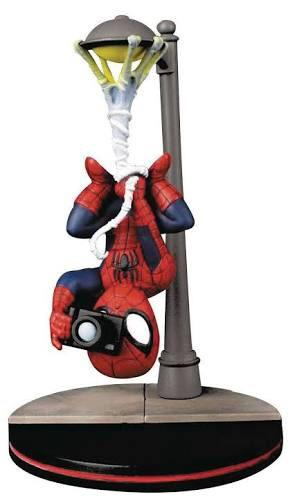 Q fig marvel spiderman súperhéroe figura hombre araña