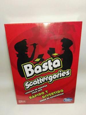 Basta Juego De Mesa Hasbro Juego Basta Scattergories En Mexico
