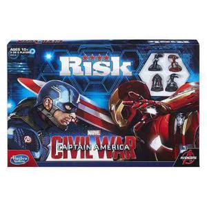 Juego de mesa risk capitan america de guerra civil