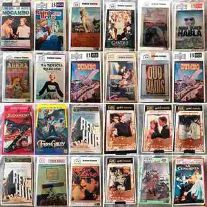 Lote peliculas beta varios titulos betamax 23 cassettes