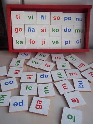 Materia didactico silabas simples