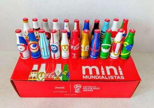 Mini mundialistas coca cola 2018