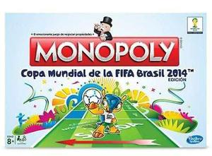 Monopoly copa mundial de fifa brasil 2014 hasbo
