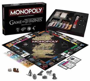 Monopoly game of thrones collector's edition board game *sk
