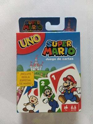 Oferta Mattel Uno Super Mario Game Juego De Mesa En Mexico
