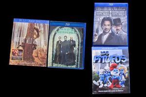 Varias peliculas originales bluray edición especial