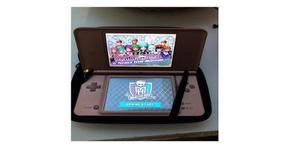 Nintendo ds xl color rosa con juegos