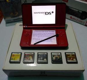 Nintendo dsi xl ed esp 25 aniversario de mario con 6 juegos