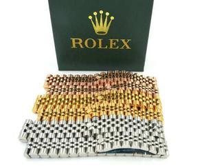 Pulsera rolex chapa de oro 14kg varios modelos envío gratis
