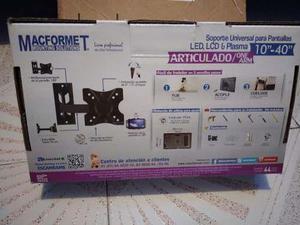 Soporte universal para pantallas led,lcd y plasma 10-40