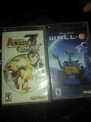 Dos juegos para psp usados.