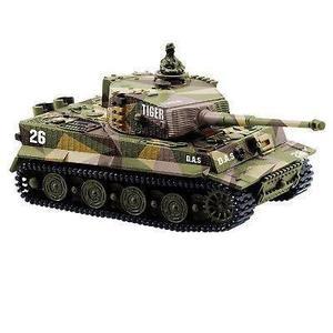 1: 72 radio control remoto mini rc alemán tiger i